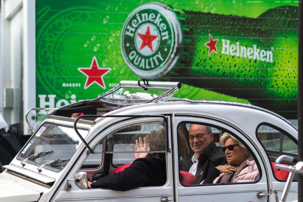 Туристы в Ситроене