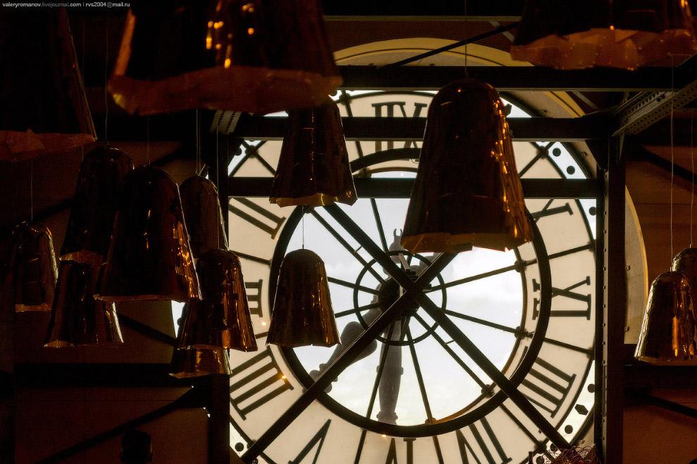 Циферблат в музее Орсе, Париж