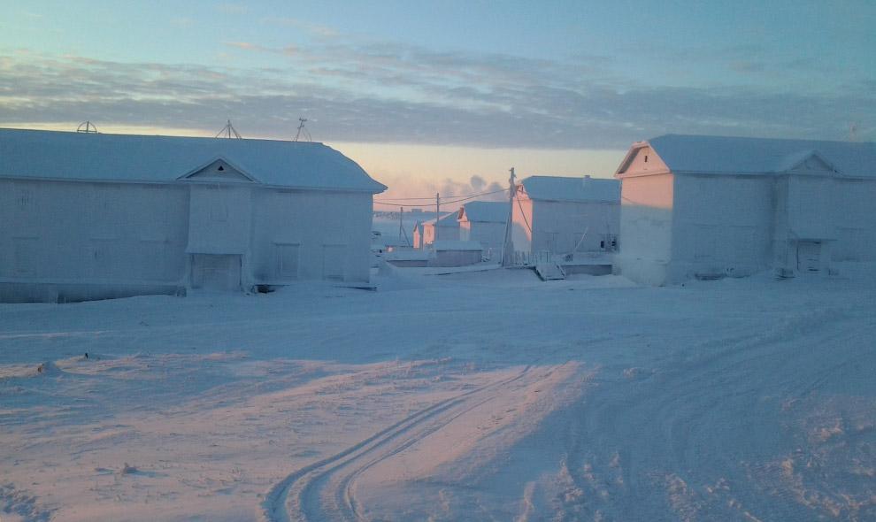 Диксон, Россия: ворота Арктики