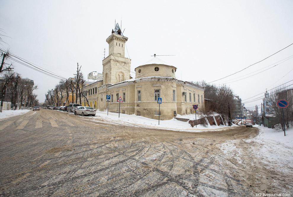 Очень интересное здание бывшей мещанской полицейской части 19 века