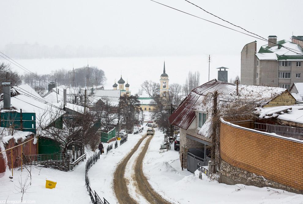 Воронеж — холмистый город