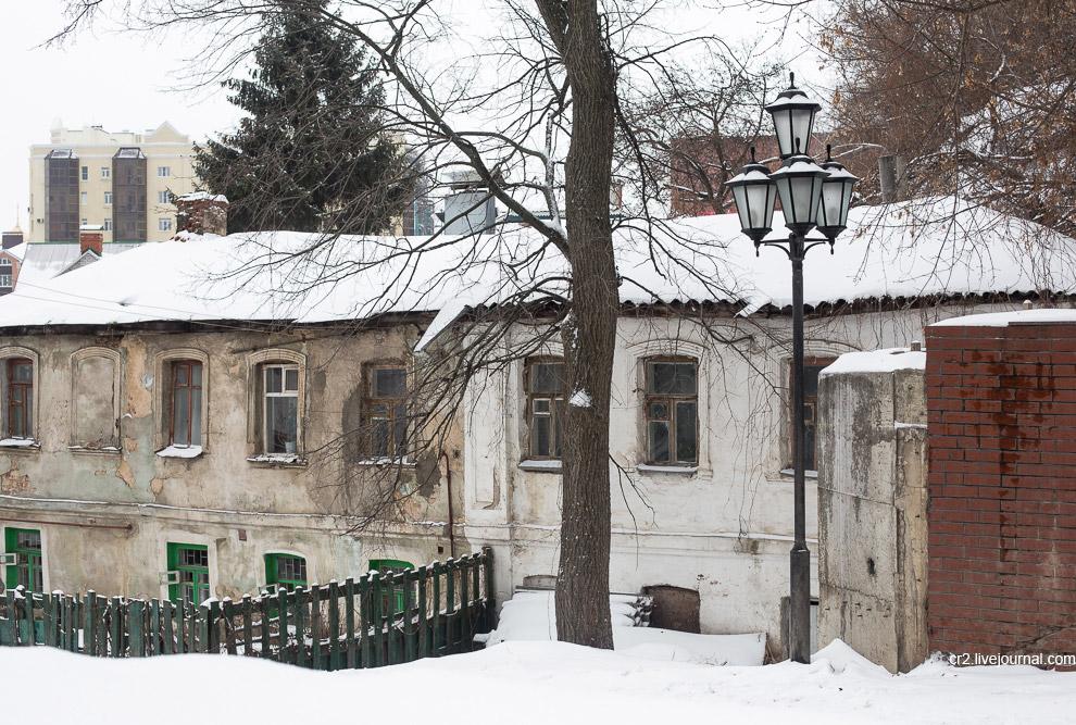 Непарадный снежный Воронеж