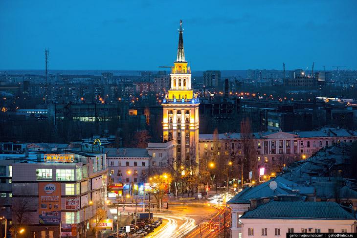 Воронеж с высоты