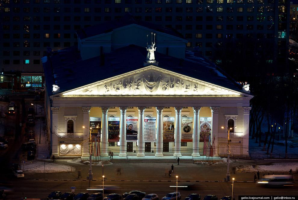 Воронежский государственный театр оперы и балета.