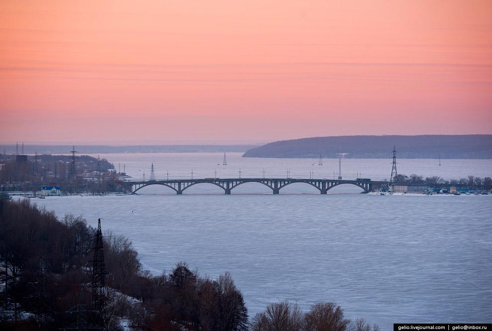 ВОГРЭСовский мост.