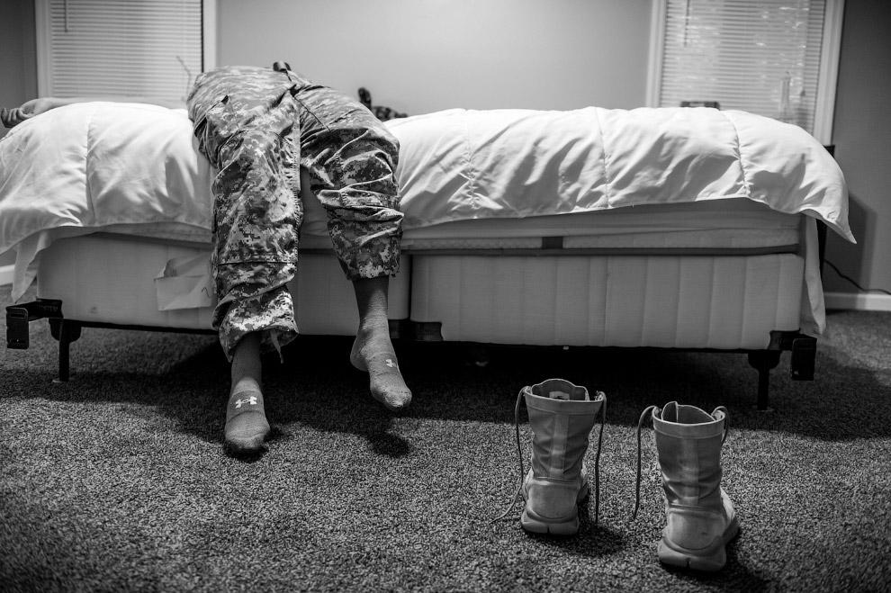 В категории «Портреты» победила фотография Мэри Ф. Калверт «Сексуальное насилие в американской армии».