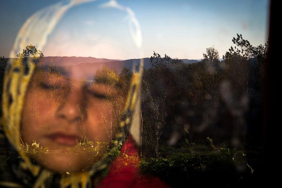 Утреннее отражение от стекла, Тегеран, Иран