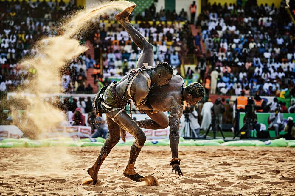 Борцы Сенегала