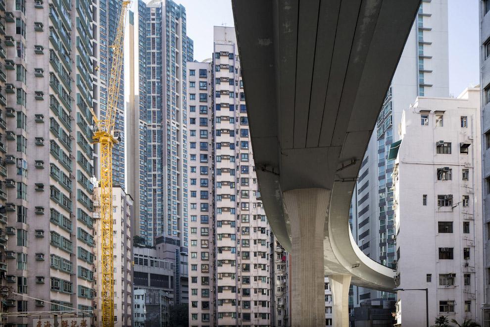 В Гонконге всё очень плотно