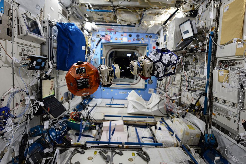 На МКС идут научные эксперименты