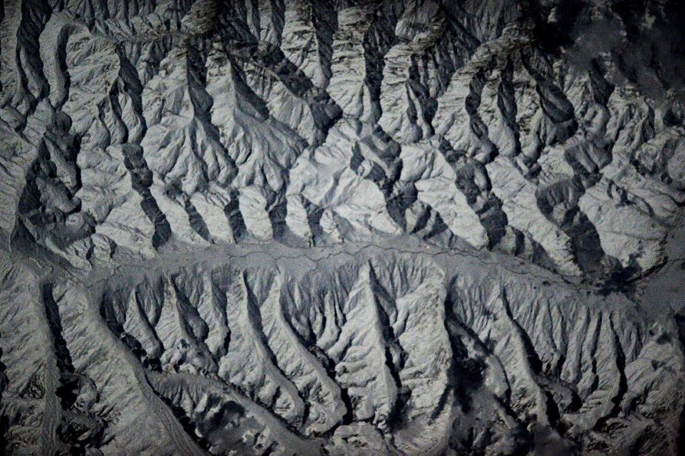Гималайские долины в полнолуние