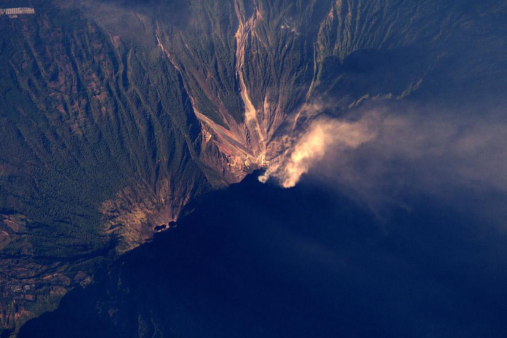 Активные вулканы в Гватемале