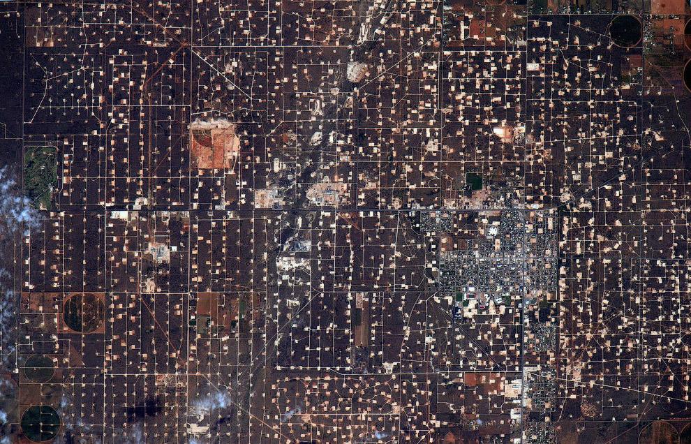 Нефтяные месторождения в Западном Техасе