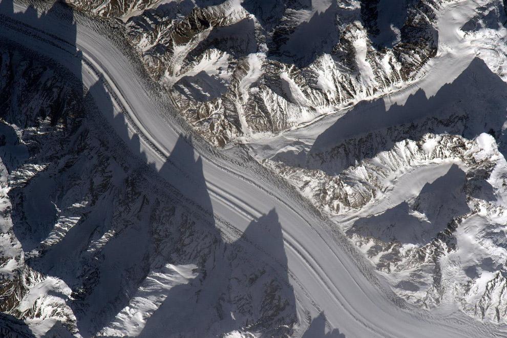 Ледники в Таджикистане.