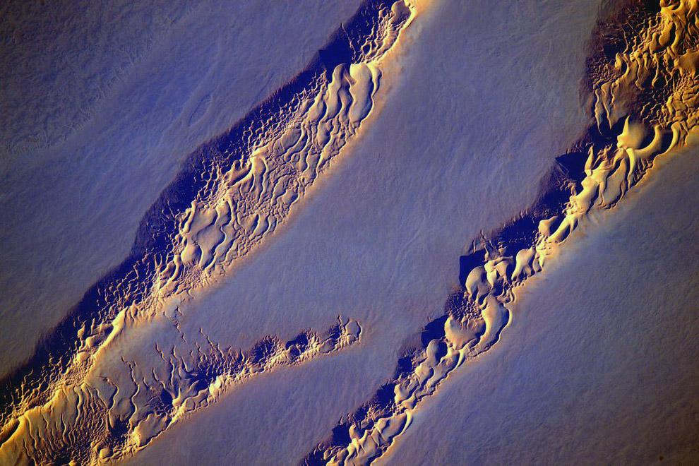 Дюны, песчаные холмы