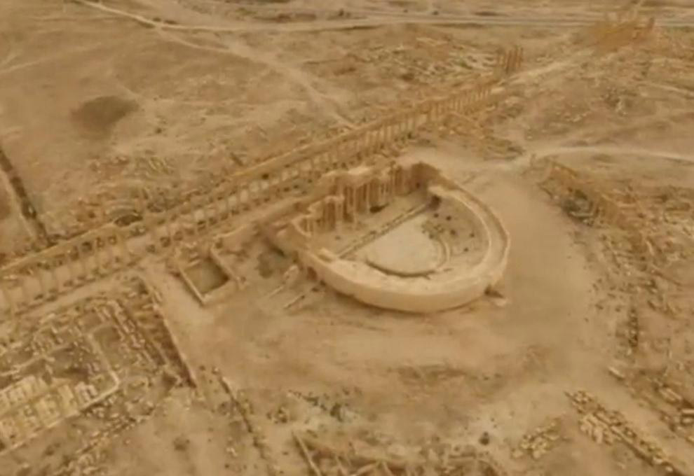 Освобождение древней Пальмиры