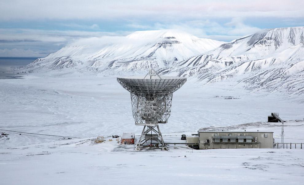 Радар Европейской системы исследования некогерентного рассеяния
