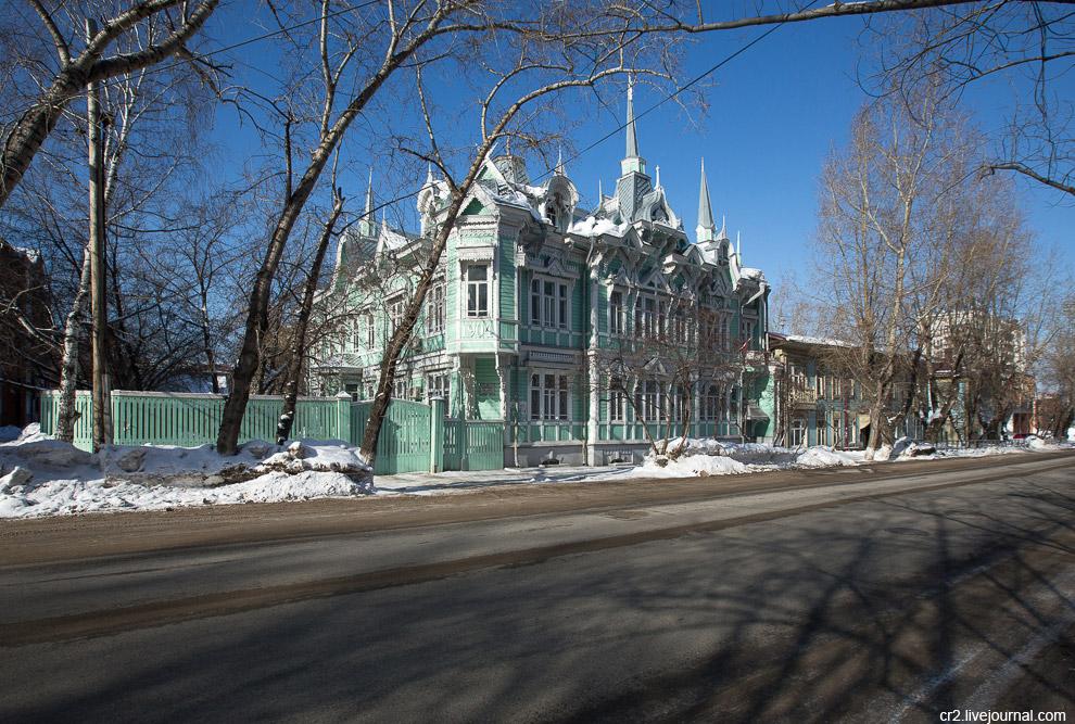 особняк архитектора С.В. Хомича на улице Белинского