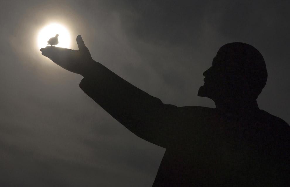Птицы прилетели. Владимир Ильич на Байконуре, Казахстан