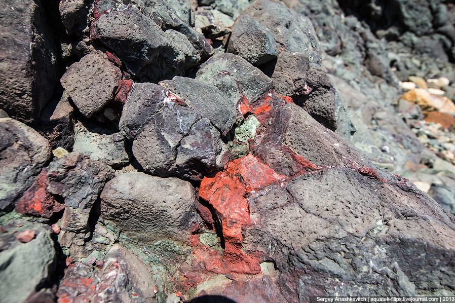 Древний вулкан мыса Фиолент