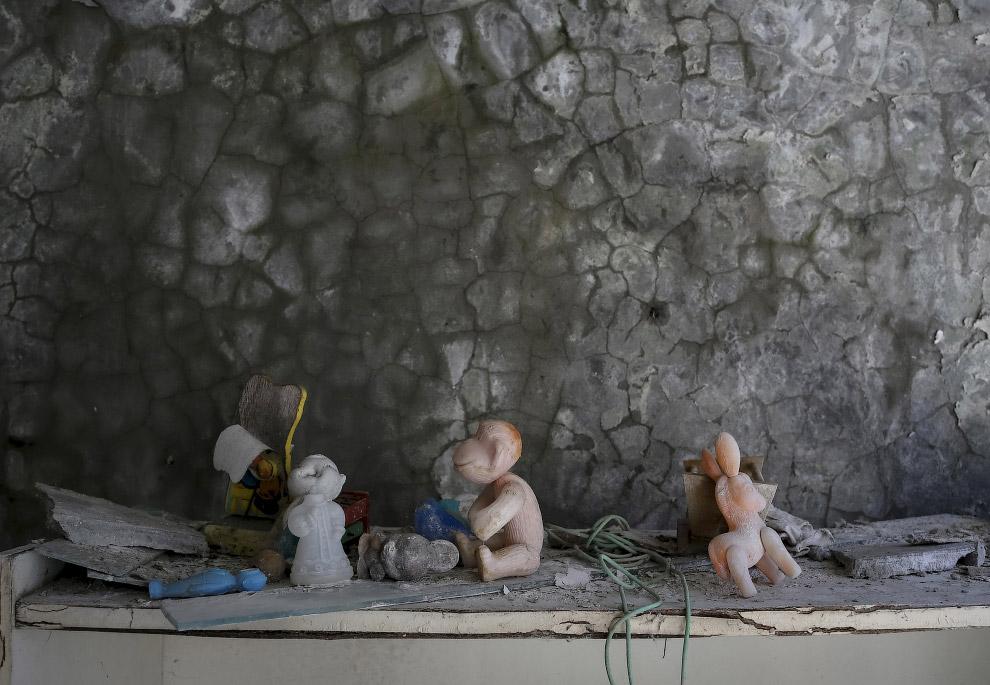 В детском саду в Припяти