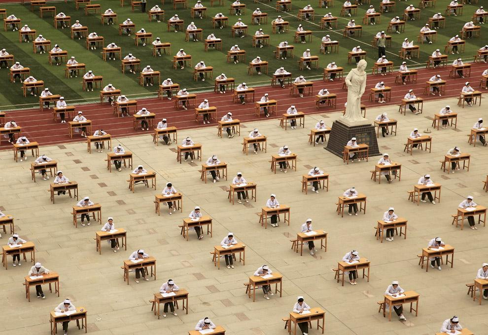 Экзамены в школе медсестер