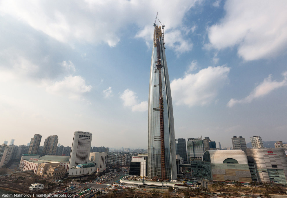 небоскреб Lotte World Premium Tower
