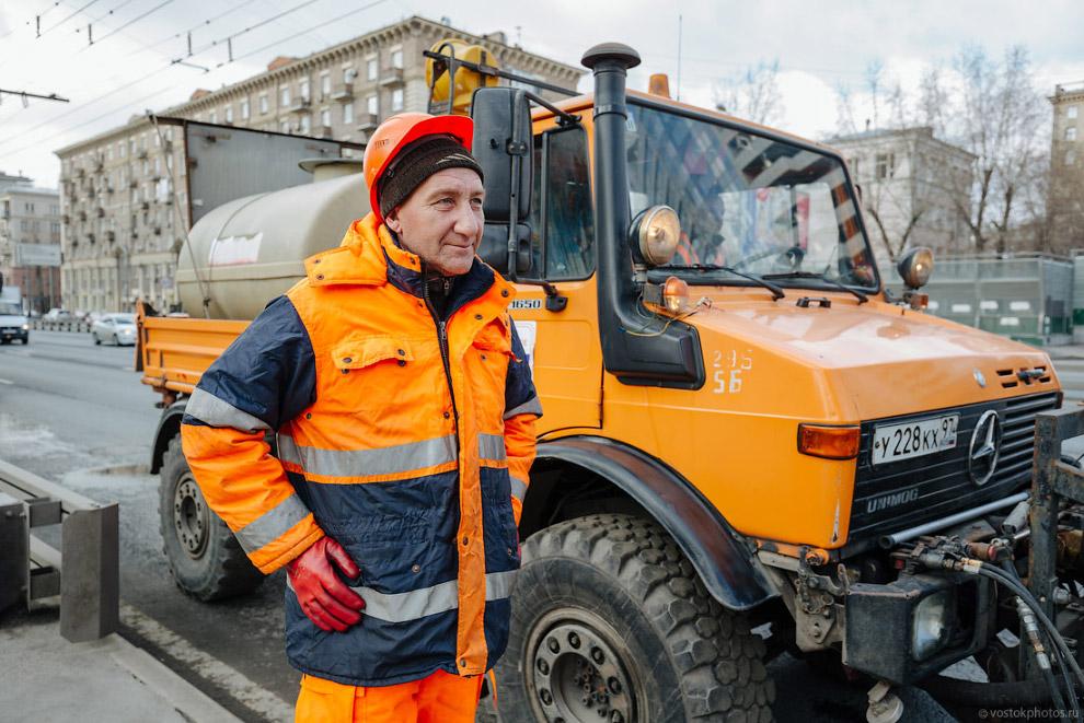 Как моют Москву