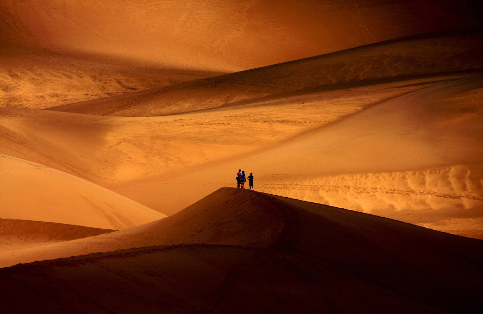 Высокие дюны в Колорадо