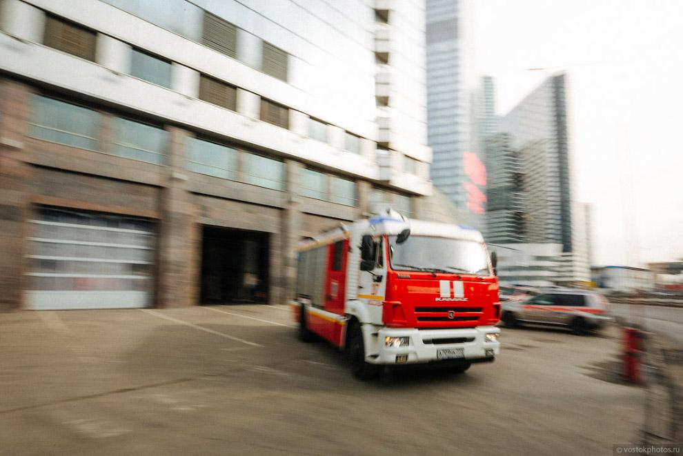 Один день из жизни пожарного