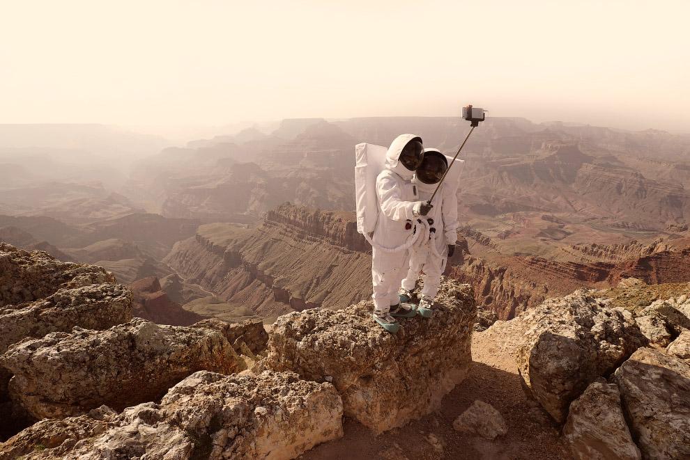 Привет с Марса