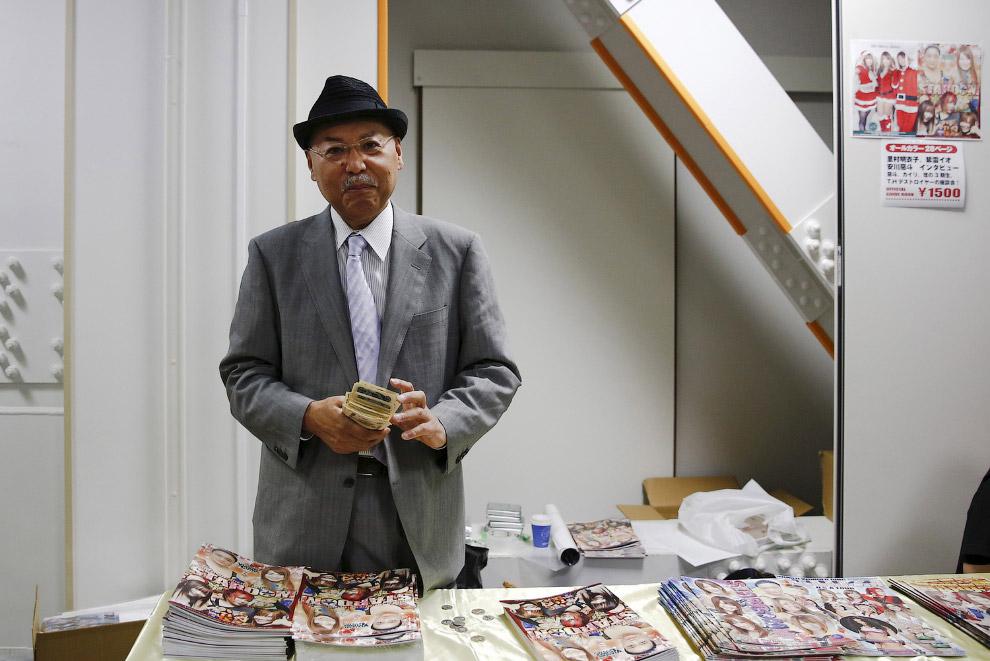 Президент женского профессионального реслинга Хироши Огава