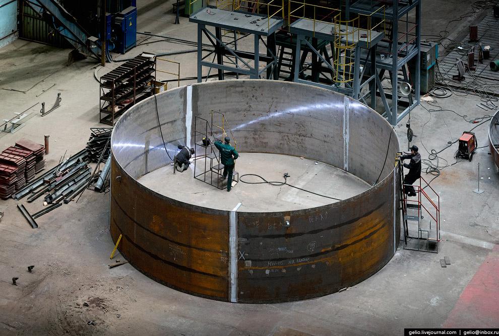 Цилиндрическая обечайка из двухслойного металла