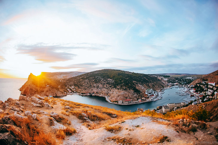 Крым: Балаклава — одно из лучших мест