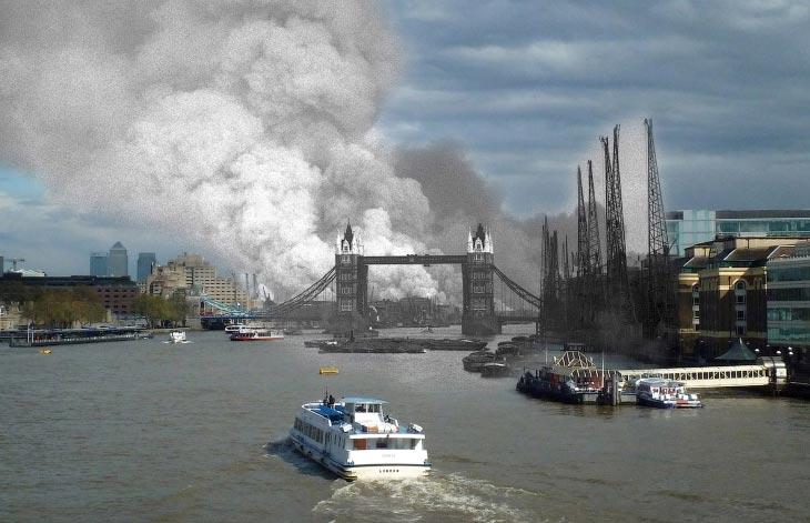 Темза, Тауэрский мост