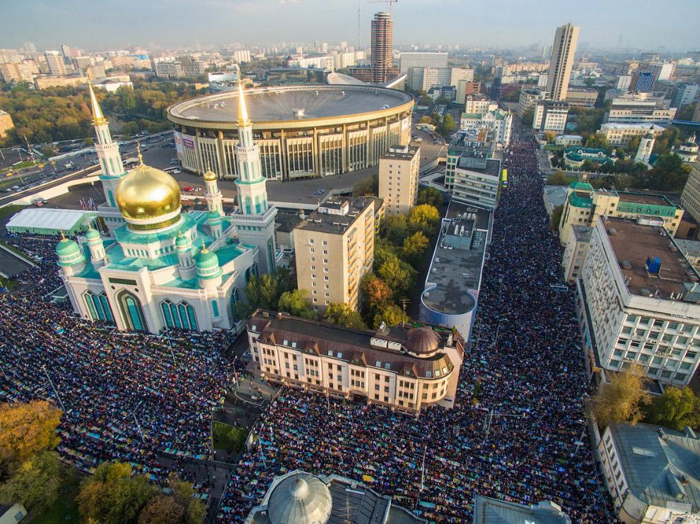 Мусульмане и Курбан-байрам в Москве