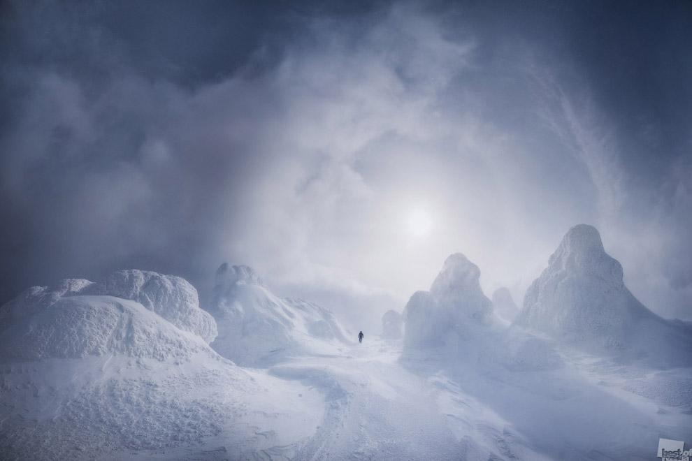Зима на Северном Урале