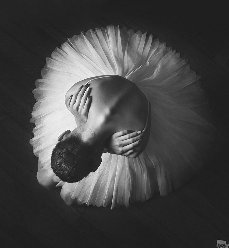 Балерина в театре оперы и балета, Нижний Новгород