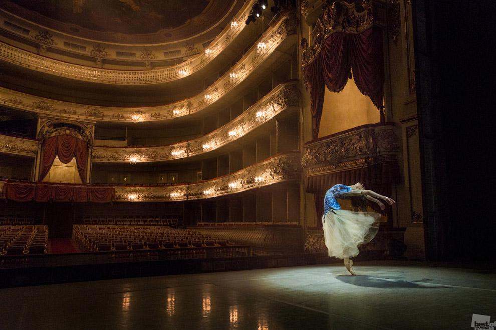 Прима на сцене Михайловского театра