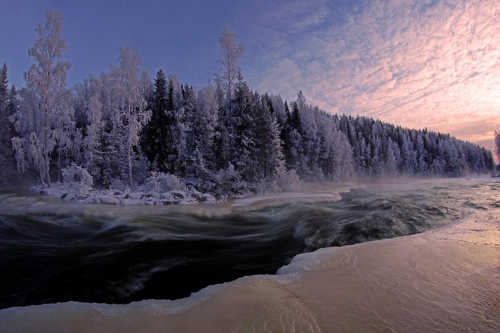 Южная Карелия: пороги реки Янисйоки