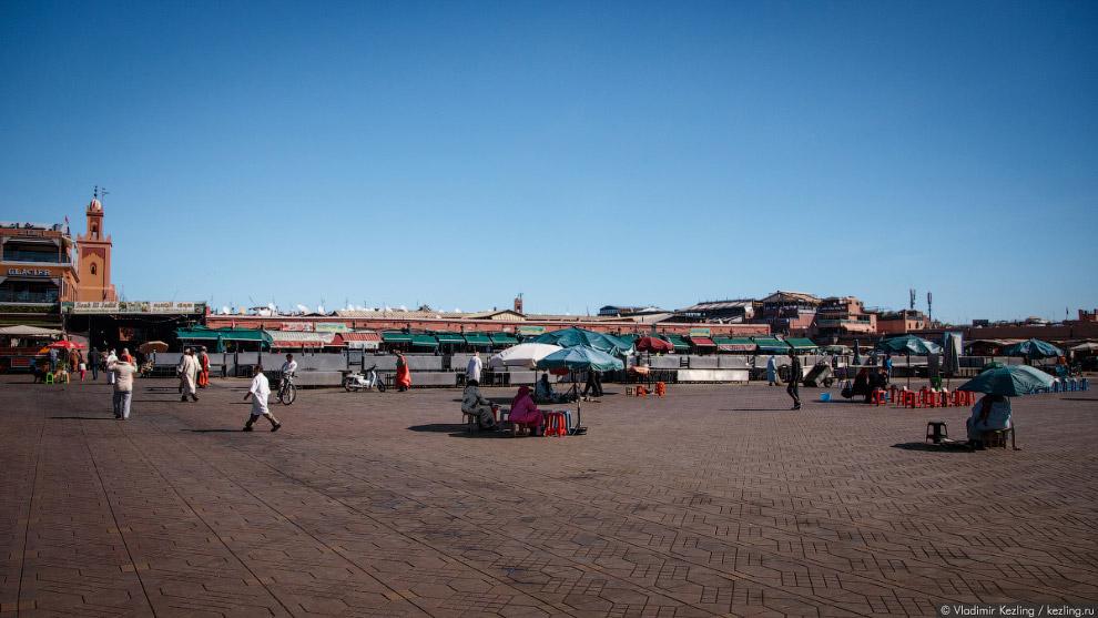 площадь Джемаа аль-Фна