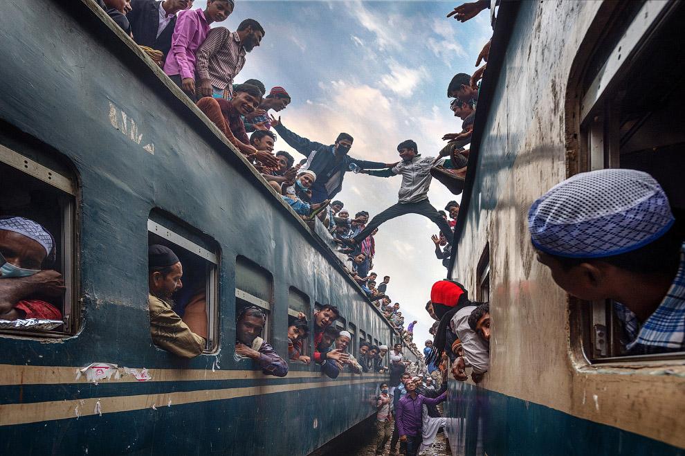 Общественный транспорт по-бангладешски