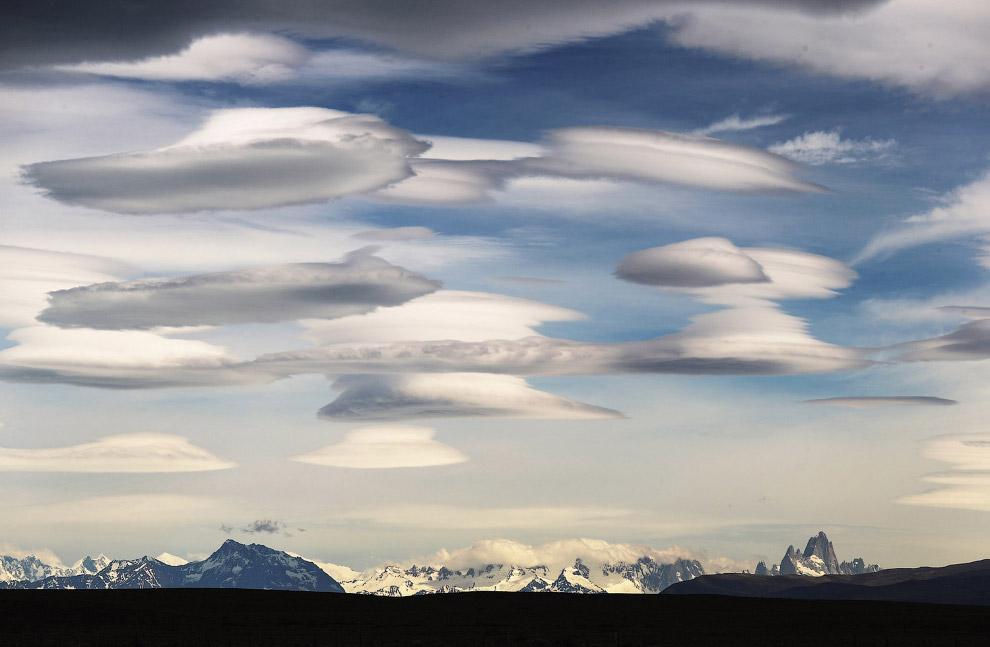 Национальный парк Лос-Гласьярес, расположенный в Патагонии (Южная Америка)