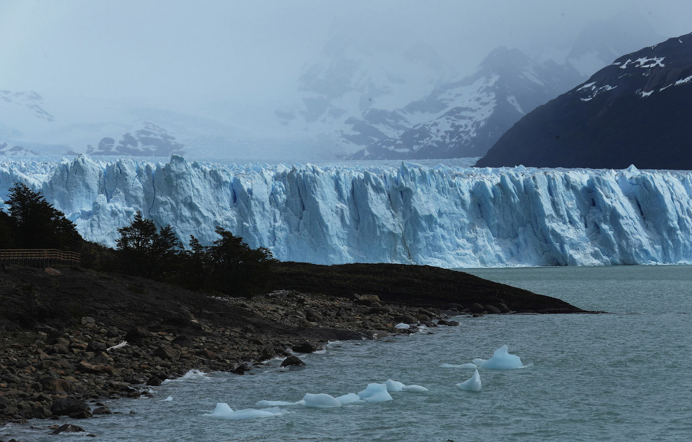 Величественный ледник Перито-Морено