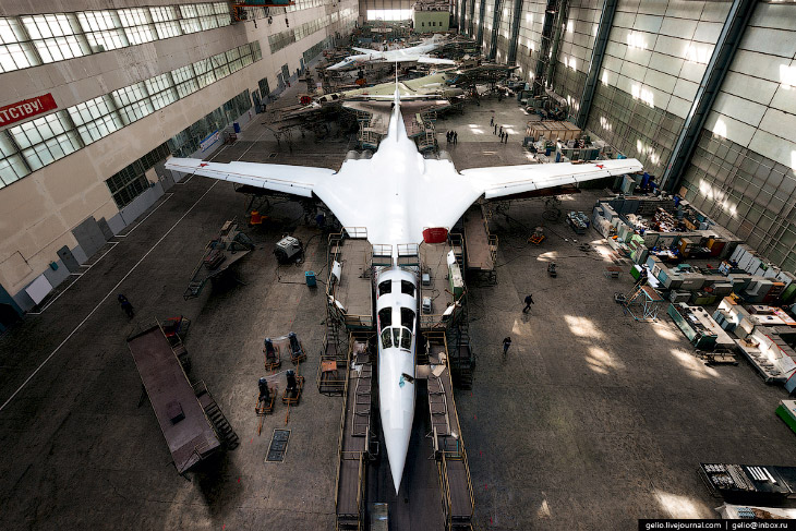 Производство самолётов Ту-160, Ту-22М3 и Ту-214