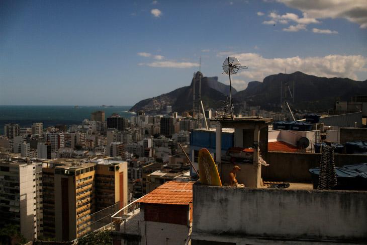 Виды из хостела Tiki в Рио-де-Жанейро, Бразилия