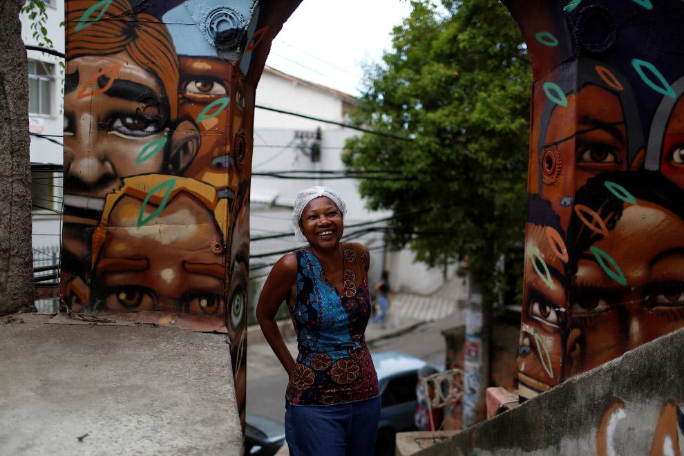 Владелица хостела Pousada Favela Cantagalo