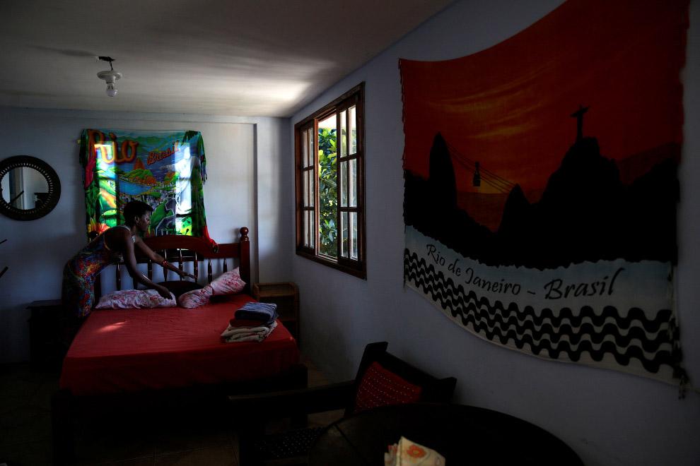 Цена номера в упомянутом общежитии Favelinha