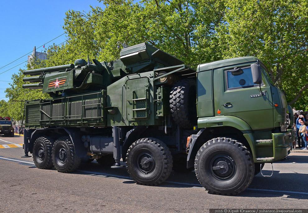 Зенитные ракетно-пушечные комплексы «Панцирь-С»