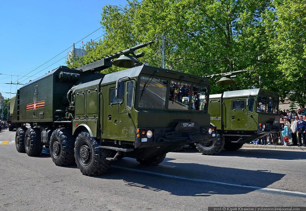 Подвижные береговые ракетные комплексы «Бастион»
